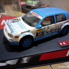 Slot Cars: NINCO 50244 VW GOLF CAIXA RENTING. Lote 177065593