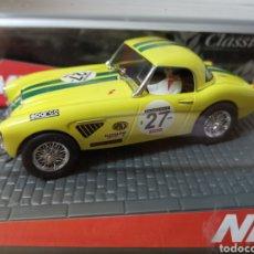 Slot Cars: COCHE SCALEXTRIC DE NINCO AUSTIN HEALEY HARD TOP LEMMANS REF. 50424. Lote 177548939