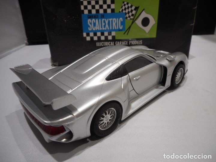 Slot Cars: NINCO Porsche 911 GT1 Silver Roadcar - Foto 4 - 177833945