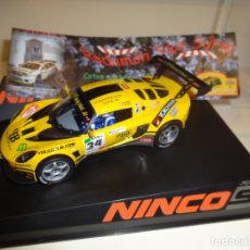 Slot Cars: NINCO. LOTUS EXIGE GT3. ED.LTA. RODAMON. V OPEN NINCO 2010. Lote 177952208