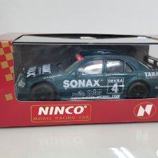 Slot Cars: MERCEDES NÚMERO 4 BERN SCHNEIDER LOT NINCO MODEL RACING CAR. Lote 178023787