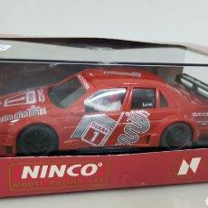 Slot Cars: NINCO MODEL RACING CAR COCHE SLOT ALFA ROMEO 155 VCT Y DE LARINI. Lote 178024317