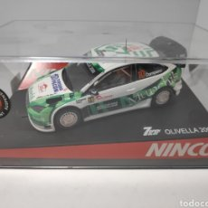 Slot Cars: NINCO FORD FOCUS MUNCHIS 06 REF. 50441 7 OPEN SLOT OLIVELLA 2008. Lote 178570967