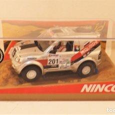 Slot Cars: NINCO RAID 50314 MITSUBISHI PAJERO. Lote 178997002