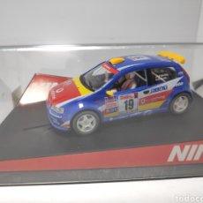 Slot Cars: NINCO FIAT PUNTO SUPER 1600 VODAFONE REF. 50336. Lote 179111328