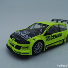 Slot Cars: RENAULT MEGANE TROPHY #4 CESAM | REF.50379 | NINCO | SCALEXTRIC |. Lote 180074291