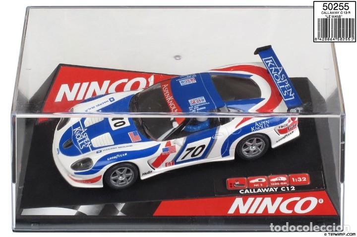 NINCO 50255 CALLAWAY C-12R LE MANS (Juguetes - Slot Cars - Ninco)