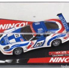 Slot Cars: NINCO 50255 CALLAWAY C-12R LE MANS. Lote 165660258
