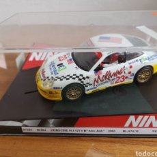 Slot Cars: COCHE SCALEXTRIC DE NINCO PORSCHE 911 GT3 R ALEX JOB 2003 REF. 50304 Nº23. Lote 181350038