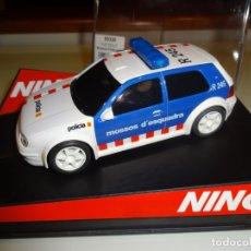 Slot Cars: NINCO. VW GOLF. POLICIA. MOSSOS D'ESQUADRA. REF. 50320. Lote 182412301