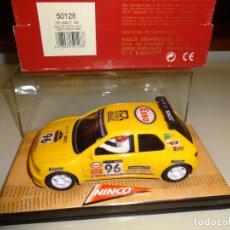 Slot Cars: NINCO. PEUGEOT 306 ED.LTA RACC COSTA BRAVA 1996. REF. 50128. Lote 203070860