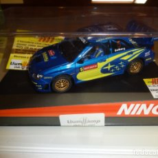 Slot Cars: NINCO. SUBARU WRC ED.LTA LLUM LLAM 2007. FIRMADO. Lote 182780642