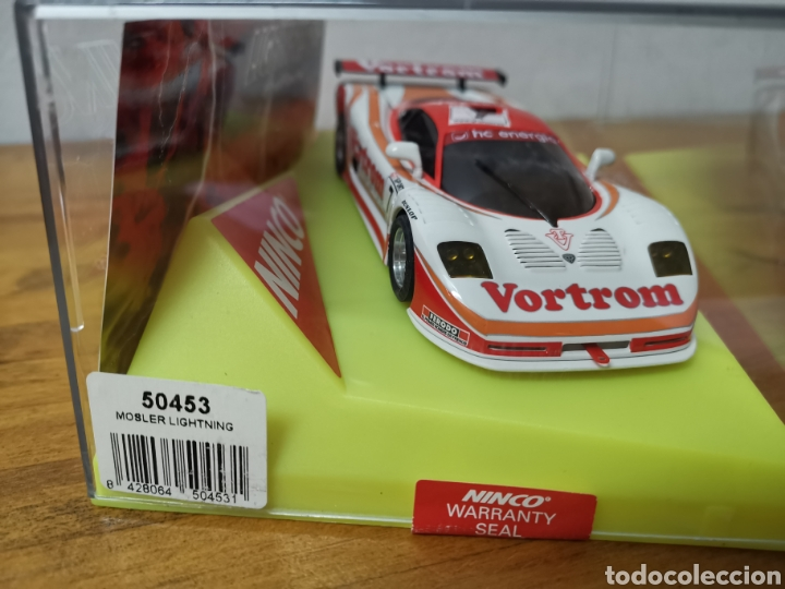 Slot Cars: Coche scalextric de Ninco Mosler Lighting ref. 50453 nº7 Vortrom - Foto 3 - 183066947