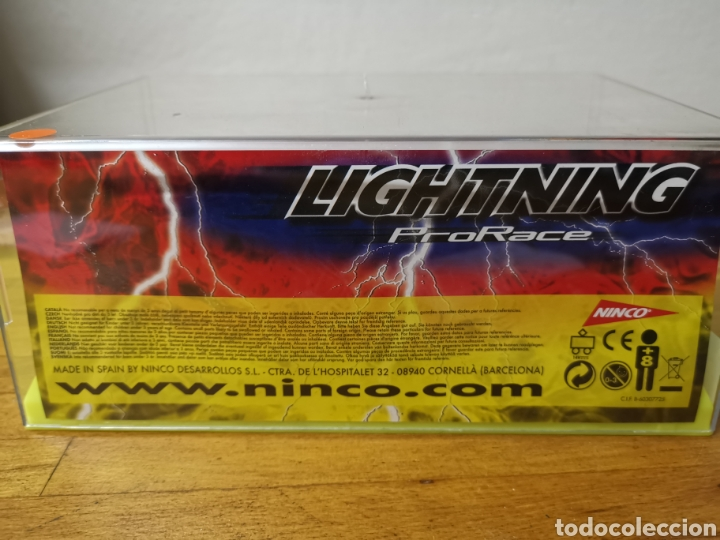 Slot Cars: Coche scalextric de Ninco Mosler Lighting ref. 50453 nº7 Vortrom - Foto 4 - 183066947