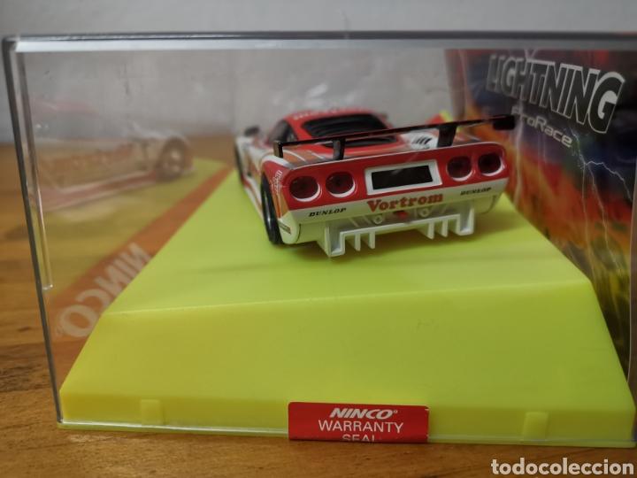 Slot Cars: Coche scalextric de Ninco Mosler Lighting ref. 50453 nº7 Vortrom - Foto 5 - 183066947
