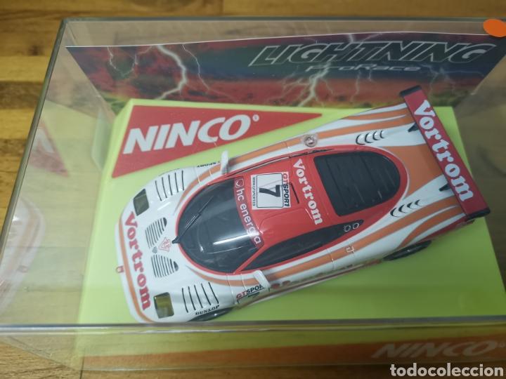 COCHE SCALEXTRIC DE NINCO MOSLER LIGHTING REF. 50453 Nº7 VORTROM (Juguetes - Slot Cars - Ninco)