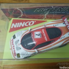 Slot Cars: COCHE SCALEXTRIC DE NINCO MOSLER LIGHTING REF. 50453 Nº7 VORTROM. Lote 183066947