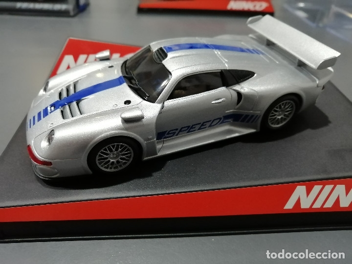 BLACK FRIDAY -50148 - PORSCHE 911 GT1 CON MOTOR NC-5 SPEEDER DE NINCO (Juguetes - Slot Cars - Ninco)