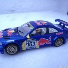 Slot Cars: BMW M3 RED BULL NINCO TIPO SCALEXTRIC. Lote 184192695