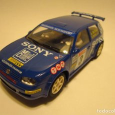 Slot Cars: VW GOLF GTI SONY NINCO. Lote 184818758