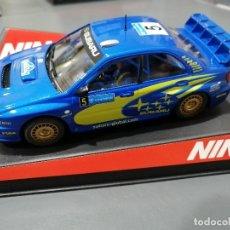 Slot Cars: 50308 - SUBARU WRC Nº5 CON MOTOR NC-5 Y SIN ESTRENAR DE NINCO. Lote 184876917