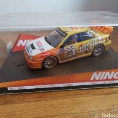 Slot Cars: COCHE SCALEXTRIC DE NINCO SUBARU IMOLA BARRO Nº25 2004 REF. 50346. Lote 184882462