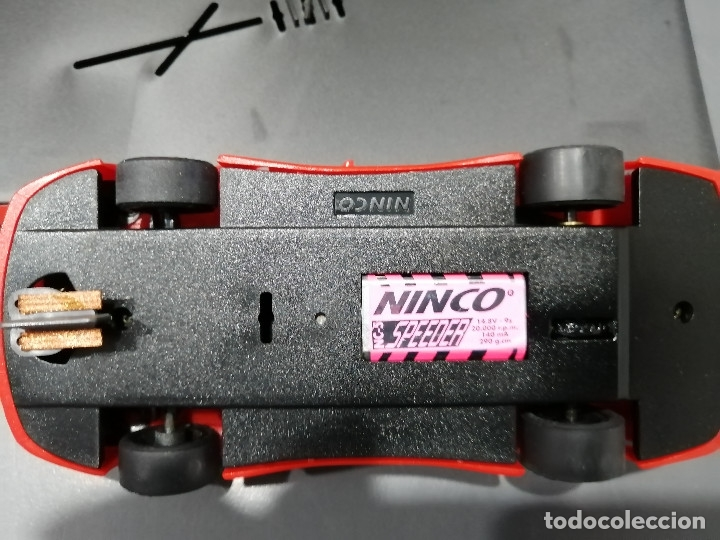 Slot Cars: 50222 - CALLAWAY C12 ROJO CON MOTOR NC-5 SPPEDER DE NINCO - Foto 3 - 184899702