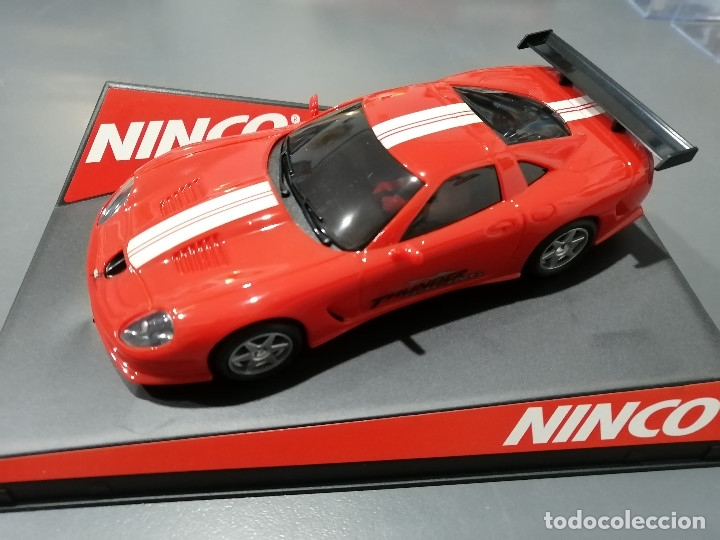 50222 - CALLAWAY C12 ROJO CON MOTOR NC-5 SPPEDER DE NINCO (Juguetes - Slot Cars - Ninco)