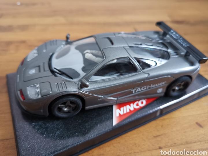 Slot Cars: Coche scalextric de Ninco McLaren F1 GTR Tag Heuer ref. 50171. Nuevo en caja - Foto 2 - 185701881