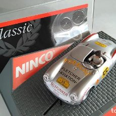 Slot Cars: NINCO PORSCHE 550 SPYDER PANAMERICANA, NUEVO EN URNA,VÁLIDO EN SCALEXTRIC. Lote 186392706