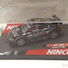 Slot Cars: AUDI TT ABT HALLERODER NEGRO Y PLATA NINCO COMO NUEVO. Lote 190052692