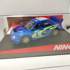 Slot Cars: NINCO SUBARU WRC NEW ZEALAND 03 PRORACE REF. 50328. Lote 193349676