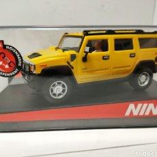 Slot Cars: NINCO HUMMER H2 YELLOW REF. 50457. Lote 193349882