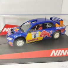 Slot Cars: NINCO MITSUBISHI LANCER WRC RED BULL REF. 50430. Lote 193414706