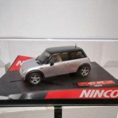 Slot Cars: NINCO MINI COOPER -SILVER- REF. 50238 NUEVO A ESTRENAR. Lote 193799420