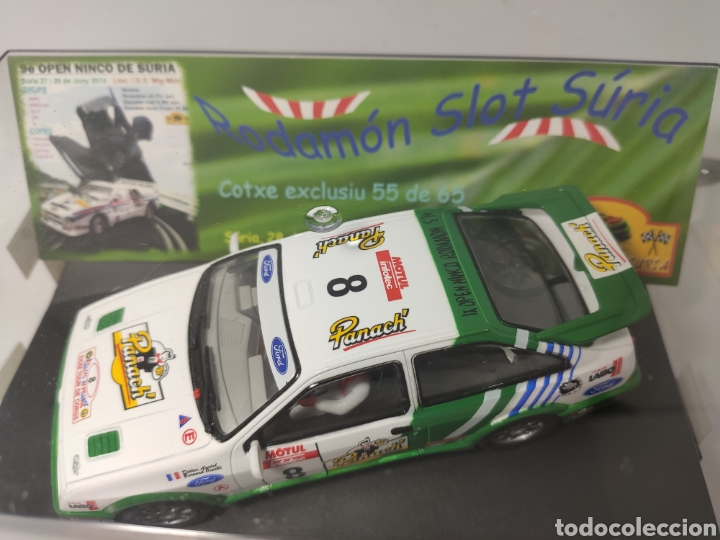 Slot Cars: NINCO FORD SIERRA AURIOL IX OPEN NINCO RODAMON SURIA REF. 50603 Edición limitada - Foto 2 - 193985110