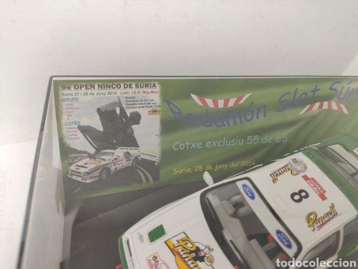Slot Cars: NINCO FORD SIERRA AURIOL IX OPEN NINCO RODAMON SURIA REF. 50603 Edición limitada - Foto 3 - 193985110