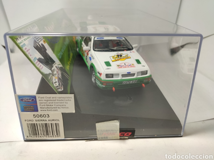 Slot Cars: NINCO FORD SIERRA AURIOL IX OPEN NINCO RODAMON SURIA REF. 50603 Edición limitada - Foto 4 - 193985110