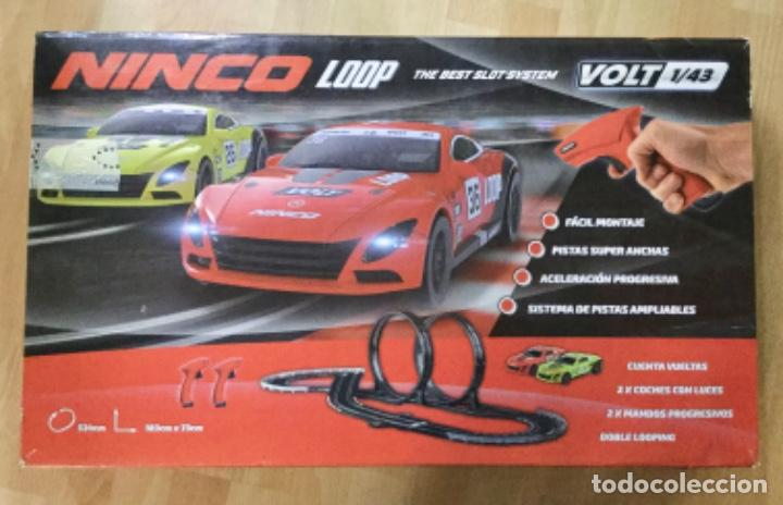 Slot Cars: CIRCUITO DE CARRERAS COCHES NINCO LOOP. - Foto 1 - 194073281