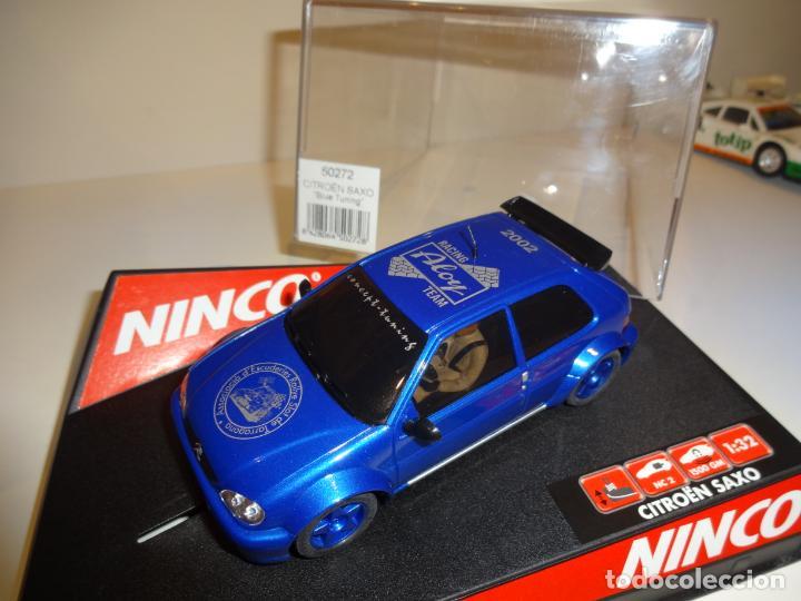 Slot Cars: Ninco. Citroen Saxo. Ed.Lta. Aloy. Ref. 50272 - Foto 2 - 194108426