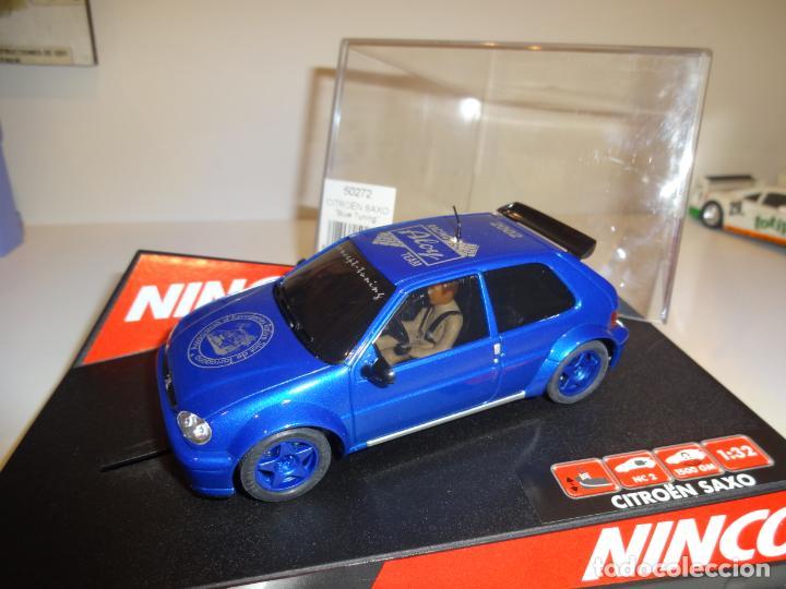NINCO. CITROEN SAXO. ED.LTA. ALOY. REF. 50272 (Juguetes - Slot Cars - Ninco)