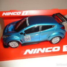 Slot Cars: NINCO 1. CHEVROLET WTCC BLUE. REF. 55001. Lote 194108512