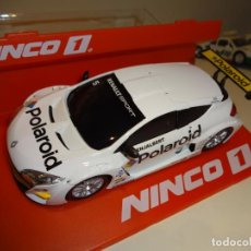 Slot Cars: NINCO 1. RENAULT MEGANE TROPHY 2009. POLAROID. REF. 55010. Lote 194109401
