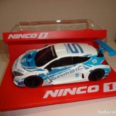 Slot Cars: NINCO 1. RENAULT MEGANE TROPHY 2009. SAMSIC. REF. 55022. Lote 194109446