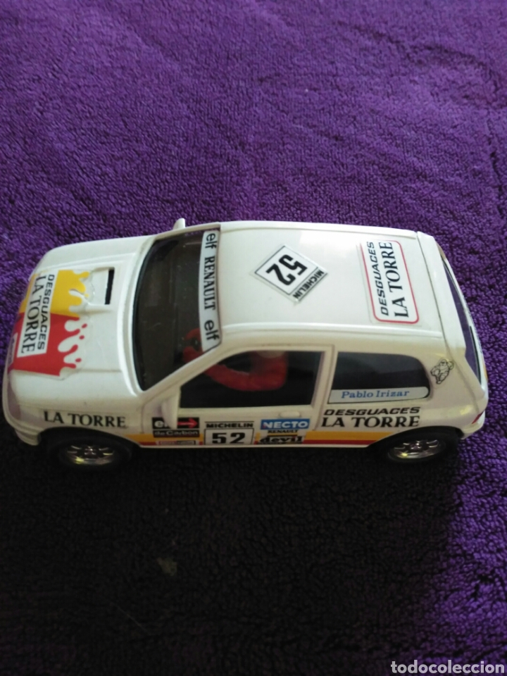 RENAULT CLIO DESGUACES LA TORRE (Juguetes - Slot Cars - Ninco)