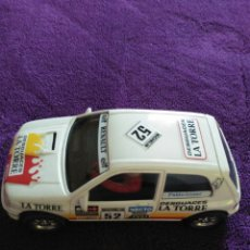 Slot Cars: RENAULT CLIO DESGUACES LA TORRE. Lote 194124016