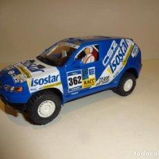 Slot Cars: NINCO. BMW X5 AZUL ISOSTAR.. Lote 194222420