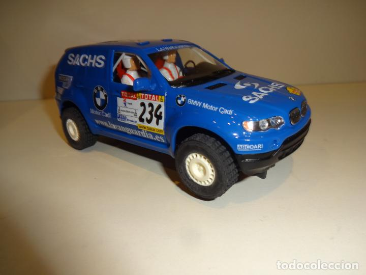 Slot Cars: Ninco. BMW X5 Azul Sachs. - Foto 2 - 194222506