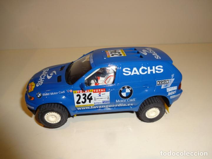 Slot Cars: Ninco. BMW X5 Azul Sachs. - Foto 3 - 194222506