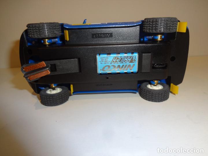 Slot Cars: Ninco. BMW X5 Azul Sachs. - Foto 4 - 194222506